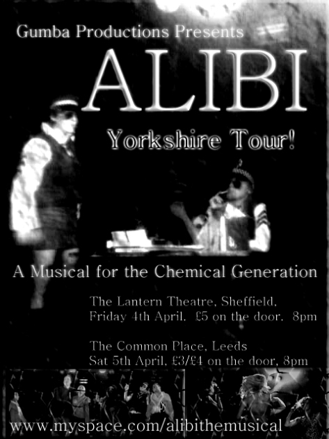 MM Alibi Poster Leeds